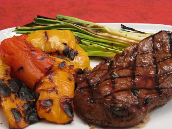 Jalapeno-Glazed Rib-Eye Steak